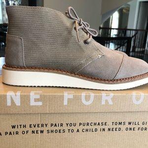 Toms men's Mateo Chukka boots size 8.5 (NWT)
